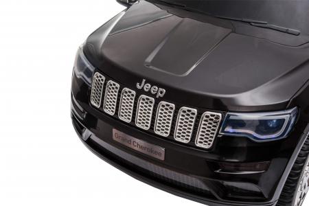 Masinuta electrica Premier Jeep Grand Cherokee, 12V, roti cauciuc EVA, scaun piele ecologica, negru [27]