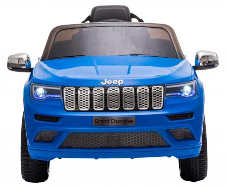 Masinuta electrica Premier Jeep Grand Cherokee, 12V, roti cauciuc EVA, scaun piele ecologica, albastru [2]