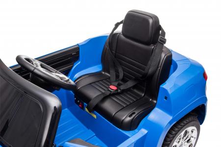 Masinuta electrica Premier Jeep Grand Cherokee, 12V, roti cauciuc EVA, scaun piele ecologica, albastru [25]