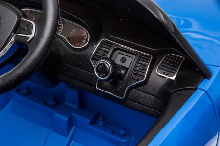 Masinuta electrica Premier Jeep Grand Cherokee, 12V, roti cauciuc EVA, scaun piele ecologica, albastru [17]