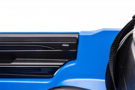 Masinuta electrica Premier Jeep Grand Cherokee, 12V, roti cauciuc EVA, scaun piele ecologica, albastru [24]
