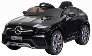 Masinuta electrica Premier Mercedes GLC Concept Coupe, 12V, roti cauciuc EVA, scaun piele ecologica, negru [0]