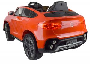 Masinuta electrica Premier Mercedes GLC Concept Coupe, 12V, roti cauciuc EVA, scaun piele ecologica, rosu7