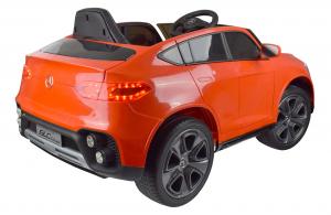 Masinuta electrica Premier Mercedes GLC Concept Coupe, 12V, roti cauciuc EVA, scaun piele ecologica, rosu14