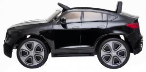 Masinuta electrica Premier Mercedes GLC Concept Coupe, 12V, roti cauciuc EVA, scaun piele ecologica, negru [5]