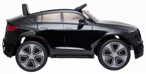 Masinuta electrica Premier Mercedes GLC Concept Coupe, 12V, roti cauciuc EVA, scaun piele ecologica, negru [3]