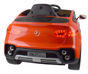 Masinuta electrica Premier Mercedes GLC Concept Coupe, 12V, roti cauciuc EVA, scaun piele ecologica, rosu15