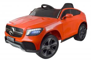 Masinuta electrica Premier Mercedes GLC Concept Coupe, 12V, roti cauciuc EVA, scaun piele ecologica, rosu0