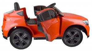 Masinuta electrica Premier Mercedes GLC Concept Coupe, 12V, roti cauciuc EVA, scaun piele ecologica, rosu16