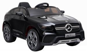 Masinuta electrica Premier Mercedes GLC Concept Coupe, 12V, roti cauciuc EVA, scaun piele ecologica, negru [4]