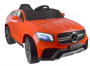 Masinuta electrica Premier Mercedes GLC Concept Coupe, 12V, roti cauciuc EVA, scaun piele ecologica, rosu11