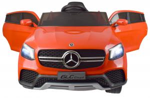 Masinuta electrica Premier Mercedes GLC Concept Coupe, 12V, roti cauciuc EVA, scaun piele ecologica, rosu6
