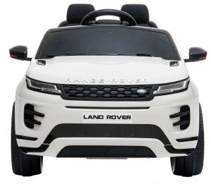 Masinuta electrica Premier Range Rover Evoque, 12V, roti cauciuc EVA, scaun piele ecologica, alb [2]