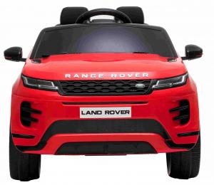 Masinuta electrica Premier Range Rover Evoque, 12V, roti cauciuc EVA, scaun piele ecologica, rosu [1]