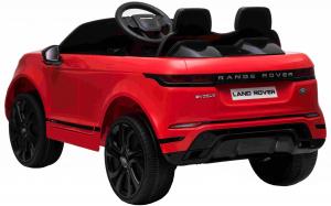 Masinuta electrica Premier Range Rover Evoque, 12V, roti cauciuc EVA, scaun piele ecologica, rosu [8]
