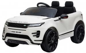 Masinuta electrica Premier Range Rover Evoque, 12V, roti cauciuc EVA, scaun piele ecologica, alb [3]