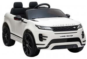 Masinuta electrica Premier Range Rover Evoque, 12V, roti cauciuc EVA, scaun piele ecologica, alb [8]