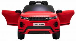 Masinuta electrica Premier Range Rover Evoque, 12V, roti cauciuc EVA, scaun piele ecologica, rosu [5]
