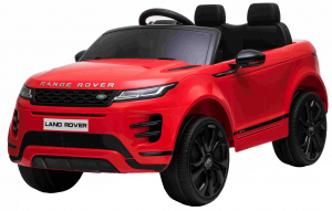 Masinuta electrica Premier Range Rover Evoque, 12V, roti cauciuc EVA, scaun piele ecologica, rosu [10]