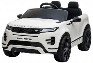 Masinuta electrica Premier Range Rover Evoque, 12V, roti cauciuc EVA, scaun piele ecologica, alb [1]