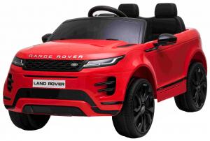 Masinuta electrica Premier Range Rover Evoque, 12V, roti cauciuc EVA, scaun piele ecologica, rosu [11]