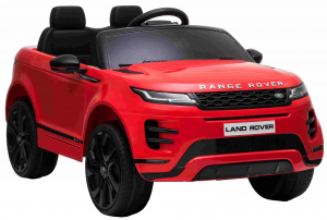 Masinuta electrica Premier Range Rover Evoque, 12V, roti cauciuc EVA, scaun piele ecologica, rosu [6]