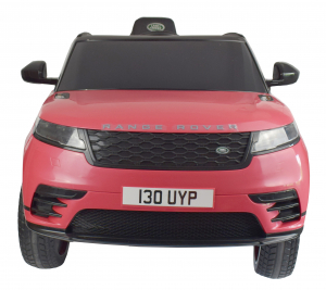 Masinuta electrica Premier Range Rover Velar, 12V, roti cauciuc EVA, scaun piele ecologica, roz [11]