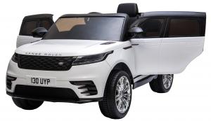 Masinuta electrica Premier Range Rover Velar, 12V, roti cauciuc EVA, scaun piele ecologica8