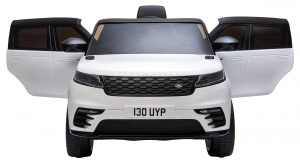 Masinuta electrica Premier Range Rover Velar, 12V, roti cauciuc EVA, scaun piele ecologica7