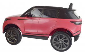 Masinuta electrica Premier Range Rover Velar, 12V, roti cauciuc EVA, scaun piele ecologica, roz [13]