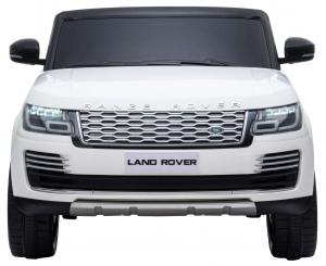 Masinuta electrica Premier Range Rover Vogue HSE, 12V, 2 locuri, roti cauciuc EVA, scaun piele ecologica, alb1