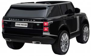 Masinuta electrica Premier Range Rover Vogue HSE, 12V, 2 locuri, roti cauciuc EVA, scaun piele ecologica, negru [5]