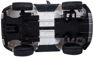 Masinuta electrica Premier Range Rover Vogue HSE, 12V, 2 locuri, roti cauciuc EVA, scaun piele ecologica, alb29