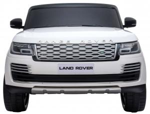Masinuta electrica Premier Range Rover Vogue HSE, 12V, 2 locuri, roti cauciuc EVA, scaun piele ecologica, alb15