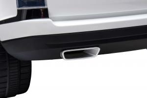 Masinuta electrica Premier Range Rover Vogue HSE, 12V, 2 locuri, roti cauciuc EVA, scaun piele ecologica, alb21