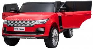 Masinuta electrica Premier Range Rover Vogue HSE, 12V, 2 locuri, roti cauciuc EVA, scaun piele ecologica, rosu [8]