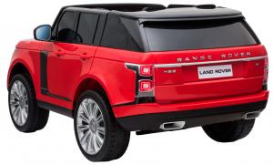 Masinuta electrica Premier Range Rover Vogue HSE, 12V, 2 locuri, roti cauciuc EVA, scaun piele ecologica, rosu [3]