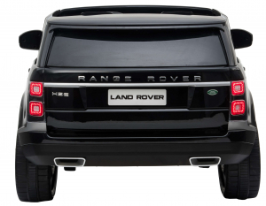 Masinuta electrica Premier Range Rover Vogue HSE, 12V, 2 locuri, roti cauciuc EVA, scaun piele ecologica, negru [4]