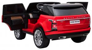 Masinuta electrica Premier Range Rover Vogue HSE, 12V, 2 locuri, roti cauciuc EVA, scaun piele ecologica, rosu [9]