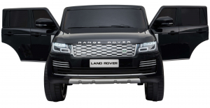 Masinuta electrica Premier Range Rover Vogue HSE, 12V, 2 locuri, roti cauciuc EVA, scaun piele ecologica, negru [7]