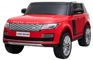 Masinuta electrica Premier Range Rover Vogue HSE, 12V, 2 locuri, roti cauciuc EVA, scaun piele ecologica, rosu [0]