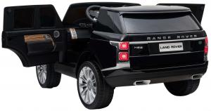 Masinuta electrica Premier Range Rover Vogue HSE, 12V, 2 locuri, roti cauciuc EVA, scaun piele ecologica, negru [9]