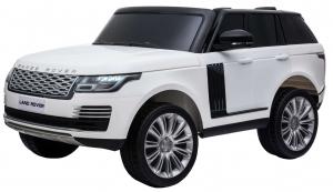 Masinuta electrica Premier Range Rover Vogue HSE, 12V, 2 locuri, roti cauciuc EVA, scaun piele ecologica, alb2