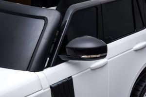 Masinuta electrica Premier Range Rover Vogue HSE, 12V, 2 locuri, roti cauciuc EVA, scaun piele ecologica, alb24