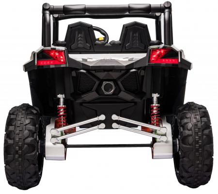 Masinuta electrica UTV Premier Dune, 24V, roti cauciuc EVA, 2 locuri, scaun piele ecologica, camuflaj [6]