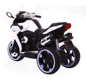Motocicleta electrica cu 3 roti Premier Sport, 6V, 2 motoare, MP3, alb [3]