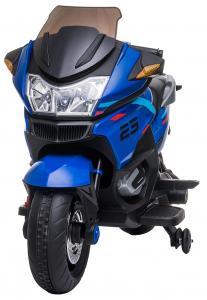 Motocicleta electrica cu 2 roti Premier Flash, 12V, roti cauciuc EVA, MP3, albastra [1]