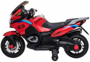 Motocicleta electrica cu 2 roti Premier Flash, 12V, roti cauciuc EVA, MP35