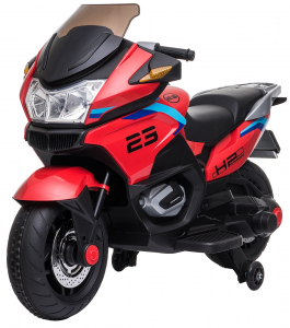 Motocicleta electrica cu 2 roti Premier Flash, 12V, roti cauciuc EVA, MP34