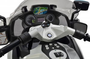Motocicleta electrica de politie Premier BMW R1200 RT-P, 12V, girofar si sunete, roti ajutatoare9